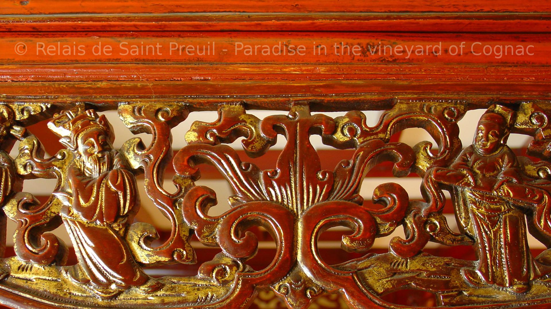 Le Palanquin Chambre de charme pr¨s d Angoulªme  lit baldaquin